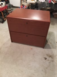 2 drawer cherry file cabinet Chantilly, 20152