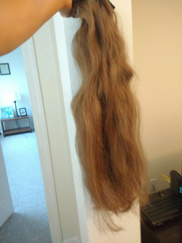 Used Human Clip In Hair Extensions For Sale In Tallahassee Letgo