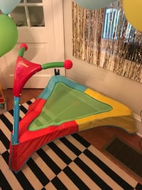 Toddler trampoline like new!