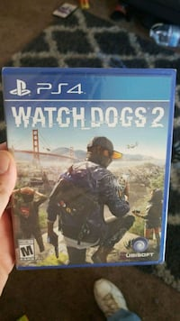 Watch Dogs 2 PS4 game case Dallas, 97338