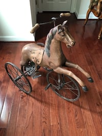 Antique reproduction horse trike. Woodbridge, 22192