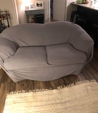 Loveseat and cover