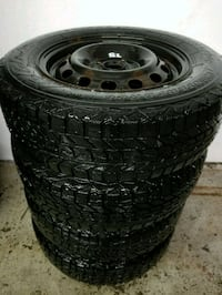 Civic rims and winter tires 185/70/14 Toronto, M6L 1A4