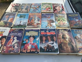 17 Disney collectible vhs and a few Dreams works