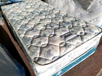 Thick single mattress double sided  Sealy posturep Edmonton, T5A 4H3