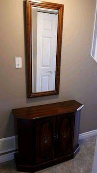 Hall console and mirror