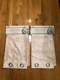 Reduced Price! NEW Set of 2 Light Pink Curtains  Markham, L3R 0G3