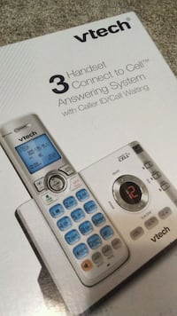 Vtech 3 handset connect to cell