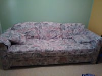 Floral fabric couch Bradenton