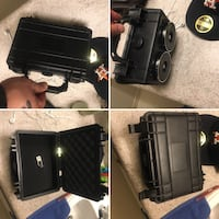 Black STASH-BOX and suitcase collage WILL TRADE FOR COWBOY BOOTS 100.0 value