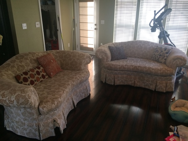 French Provincial Sofa Couch Set