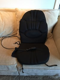 black shiatsu massage cushion San Jose, 95120