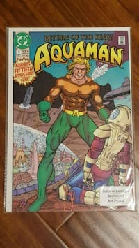 #1 Aquaman comic book DC