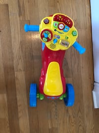 !Like New! VTech 2-in-1 Learn and Zoom Motorbike