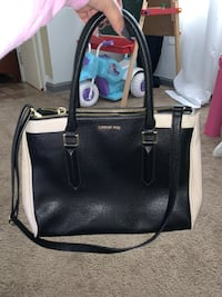 black and white leather 2-way bag Hagerstown, 21740