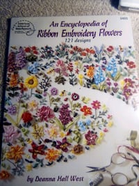 Ribbon embroidery book 121 designs
