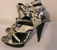 open toe platform stilettos size 9 Washington, 20019