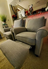Matching recliners for sale (Light Grey) Alexandria, 22304