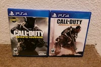 two Sony PS4 Call of Duty game cases Bismarck, 58504