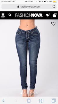 women's blue denim jeans Edmonton, T6M 2L2
