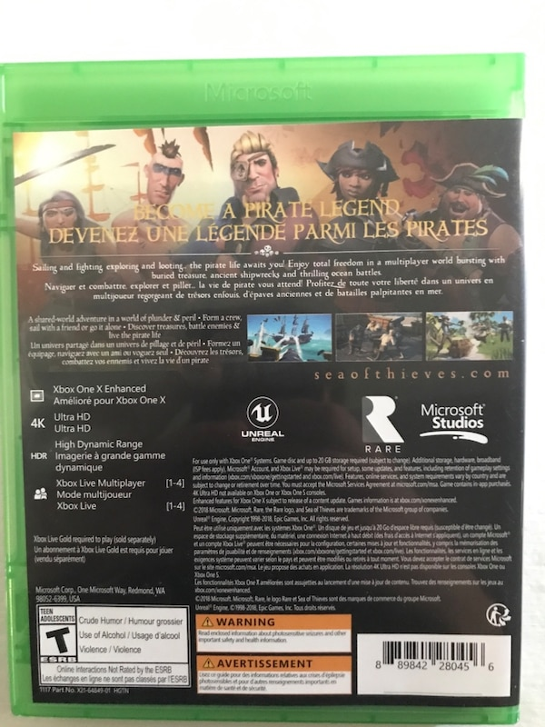Sea of Thieves (NEGOTIABLE) down to $50 394fa3b4-d8d9-4fc1-aee4-5619b4fa2d90