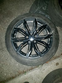 Rtx black widow 5x112 or 115 .   vw Jetta Toronto, M6A 1W4