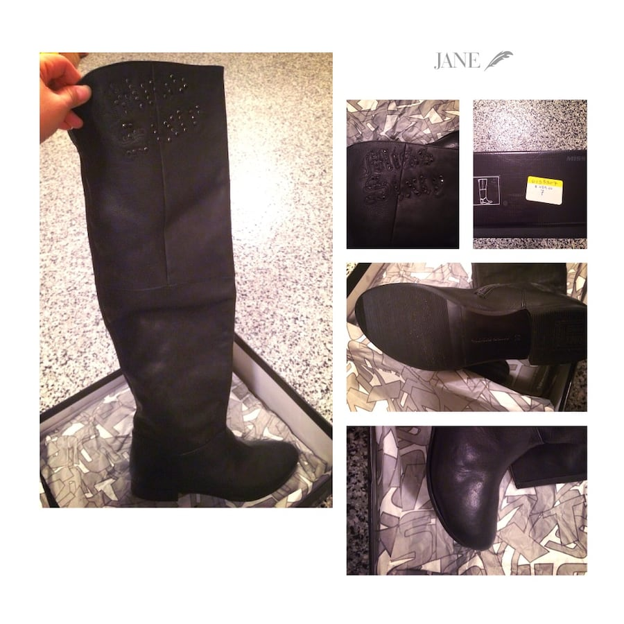 Miss Sixty over knee high boots (brand new)