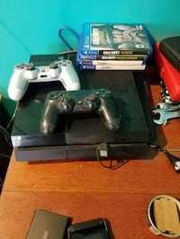 Sony PS4 console with controller and game cases Los Angeles, 90018