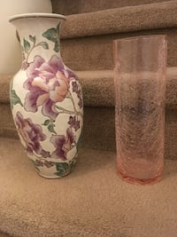 One ceramic multicoloured and one is a rose  colour  no chips or marks excellent condition Coquitlam, V3B