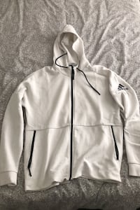 Adidas high collared hoodie (size LARGE) NEGOTIABLE