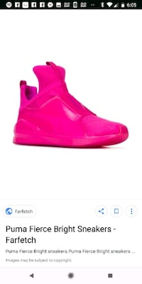 $75 obo Puma Sneakers Hot Pink size 8.5.   Vaughan, L4J 7S3