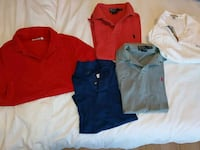 5 polo shirts Men's small  Boisbriand, J7H 1S6