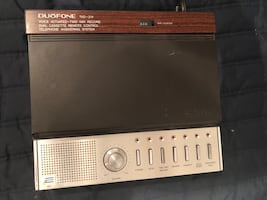 VTG Duofone  tad-214 dual cassette answer machine