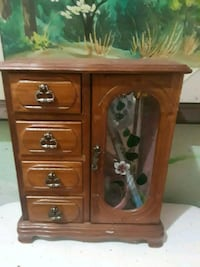 brown wooden cabinet with drawer Shelton, 98584