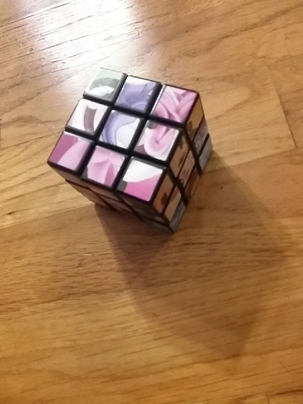 4561f9e000b8f Used white purple and pink rubik s cube for sale in Port Orchard - letgo