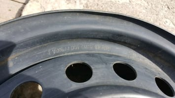 Toyota Corolla Steel Rims only two left 40$ both or 30$ each