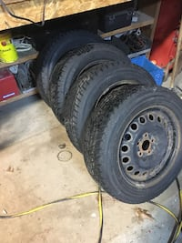 5x110 16' rims with winter tires  null