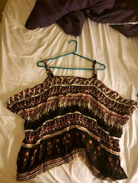 Tank top, band is Forever 21, Medium/Large Anchorage, 99508