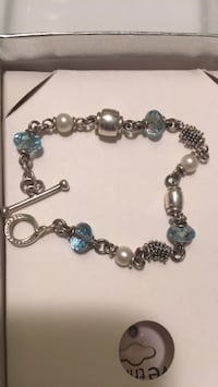 silver and blue beaded bracelet Richmond, 23221