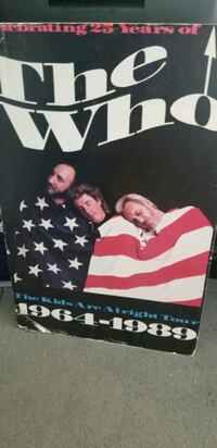 The Who - Tour Poster