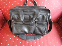 REDUCED TO SELL! Original Leather TUMI Expandable Laptop Bag Toronto