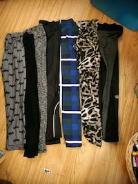 7pairs tights all different  Calgary, T2B 2C7