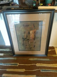 Brown wooden framed picture Orlando, 32839
