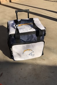 San Diego Chargers rolling Cooler Ice Chest