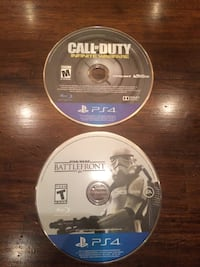 Ps4 call of duty infinite warfare disc