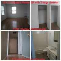 ROOM For Rent 1-2BR 1BA  Norfolk