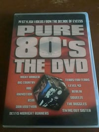Pure 80s The DVD music videos York, 17403