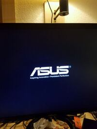 black Asus 24 inch flat screen TV Jurupa Valley, 92509