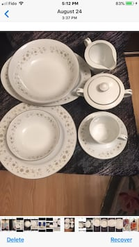 China Set 40 Pieces-Check All Pictures Toronto, M4A 1T7