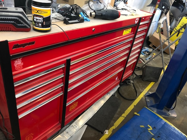 used 72 harbor freight tool box with tools for sale in san francisco letgo. Black Bedroom Furniture Sets. Home Design Ideas